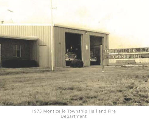 1975 Monticello Township Hall and Fire Department